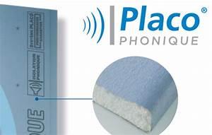 Isolation Phonique Cloison : isolation phonique et thermique des cloisons plafond ~ Melissatoandfro.com Idées de Décoration