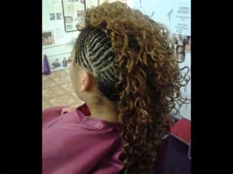 Mohawk Sew In Weave Hairstyles by Mohawk Weave