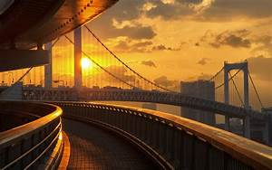 Daily Wallpaper Odaiba Rainbow Bridge I Like To Waste