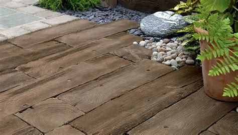 woodstone sleepers wood effect paving marshalls