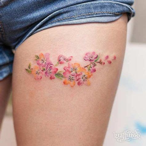 image result  small thigh tattoo verlean flower tattoo designs small thigh tattoos