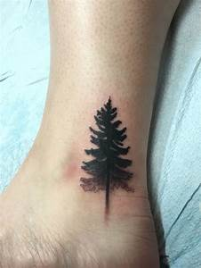 47+ Best Pine Tree Tattoos Design And Ideas