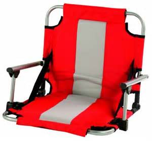 stansport folding stadium seat with arms by stansport at