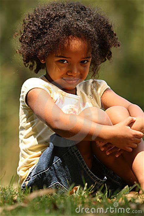 african american  girl stock image image