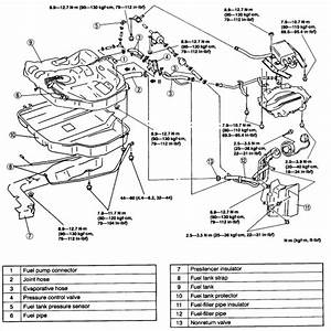 1999 Mazda 626 4 Cyl Manual    Need To Replace Fuel Pump