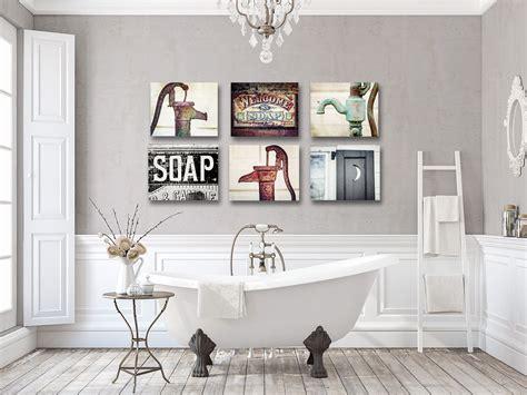 artwork  rustic bathroom wall decor farmhouse bathroom