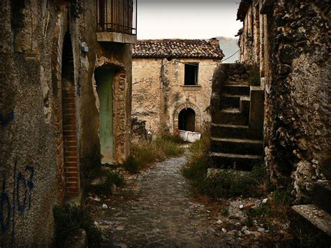 abandoned villages   mountains  europe  middle