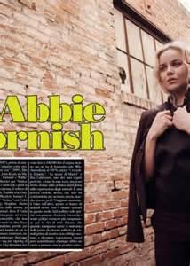abbie cornish vogue abbie cornish luomo vogue magazine 06 gotceleb