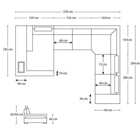 dimension canapé dimension canape angle maison design wiblia com