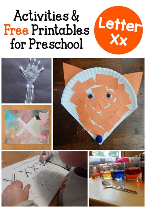 letter x crafts for preschool letter x activities for preschool the measured 971