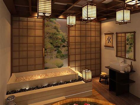 japanese bath design japanese style bath lanterns bathroom pinterest