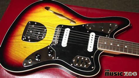 Fender Thinline Jaguar by Fender Special Edition Thinline Jaguar Electric Guitar 3