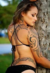 Tribal Tattoo Frau : flower tattoo designs maori tribal tattooscool tribal tattoo ~ Frokenaadalensverden.com Haus und Dekorationen