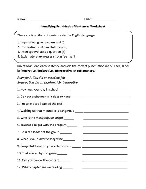 8 best images of four types of conflict worksheet types