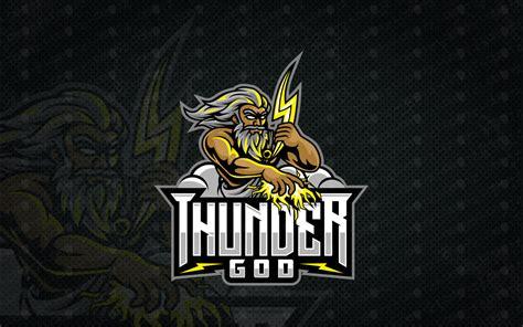 zeus esports logo thunder god esports logo  sale lobotz