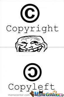 Copyright Meme - copyright by pr meme center