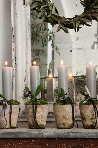 candele natale fai da te candele di natale foto design mag