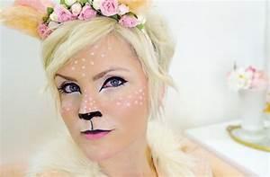 Maquillage D Halloween Pour Fille : modele maquillage mignon ~ Melissatoandfro.com Idées de Décoration