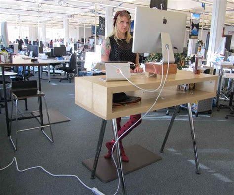 ikea standing desk hack ideas office space ikea