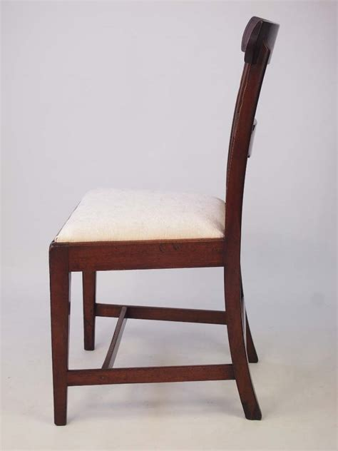 antique side chairs for antique georgian mahogany desk chair side chair 7488
