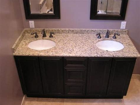 Bathroom Vanity Countertops Ideas by Best 25 Granite Countertops Bathroom Ideas On