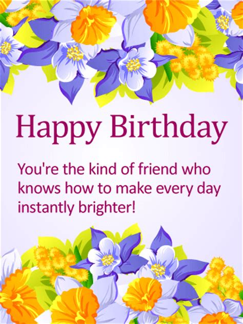 Our original happy birthday gifs is the perfect way to let someone know you care and that you are thinking of them on their special day. Delightful Happy Birthday Card for Friends | Birthday & Greeting Cards by Davia