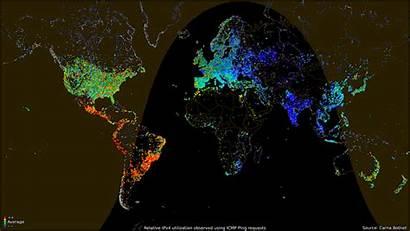 Internet Global Reddit Maps Usage Based Shocking