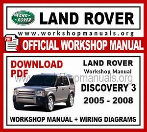 Land Rover Discovery 3 Workshop Repair Manual