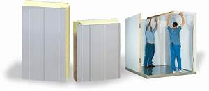 Structural insulated panels easy to install easy to handle for Panneau de chambre froide