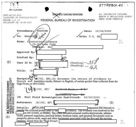 bureau du fbi l 39 observateur du péril innommable analyse du rapport du