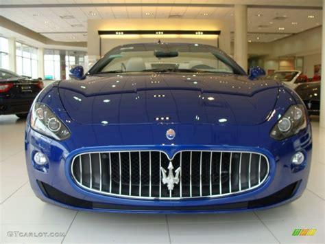 maserati granturismo convertible blue blu mediterraneo blue metallic 2012 maserati granturismo