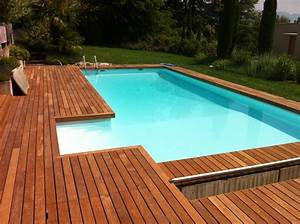 habillage de piscine With awesome amenagement autour piscine bois 1 nos realisations portfolio