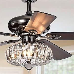 52inch, Modern, Reversible, Ceiling, Fan, Light, Bulbs, With, 5, Wood, Blade, U2013, Lanora, Lighting