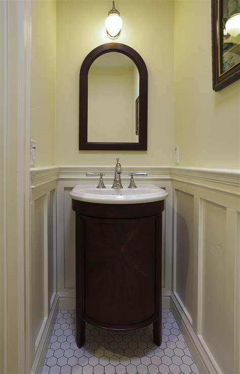 bathroom mirror ideas for single sink powder room vanities powder room traditional with bathroom