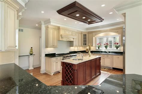 slim kitchen island 31 quot new quot custom white kitchens with wood islands 2321