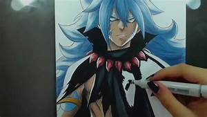 Speed Drawing - Acnologia Human Form (Fairy Tail) | Speed ...
