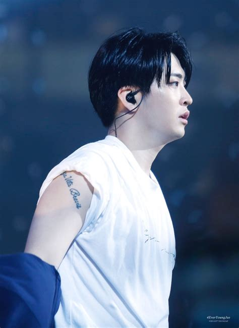 gots youngjae   tattoo channel