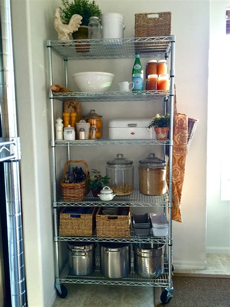 Anyone have any suggestions on that as well? Homestead Revival: No Pantry? No Problem. | Kitchen pantry storage, Apartment kitchen, Kitchen ...