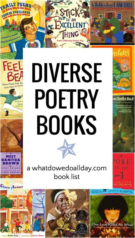 wonderfully diverse poetry books for 959 | diverse poetry books pin 680