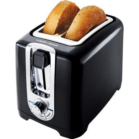 toasters at walmart black decker 2 slice toaster with bagel function black tr1256b walmart