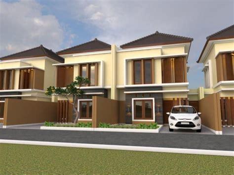 rumah bertingkat dua model modern rumah minimalis fasad