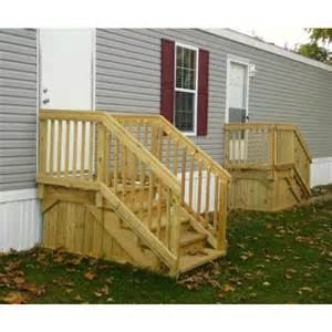 Mobile Home Porches and Steps
