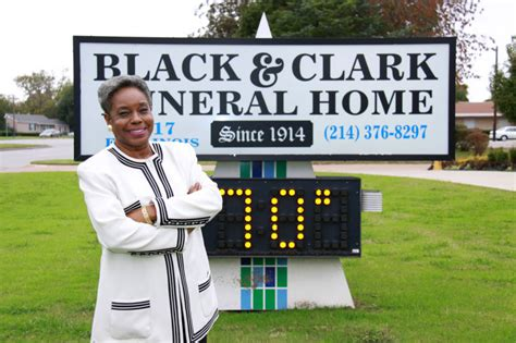 funeral home black and clark funeral home celebrating 100 years of Clark