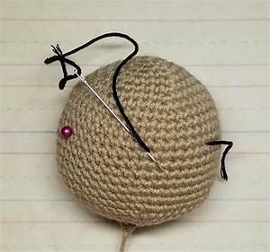 Easy Amigurumi Eye Embroidery Free Tutorial