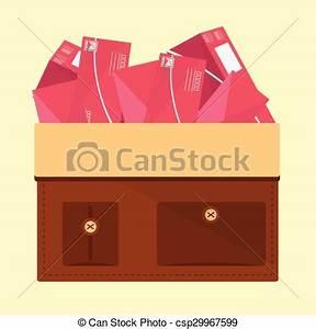 EPS Vectors of Bag Mail Delivery Vector Illustration ...