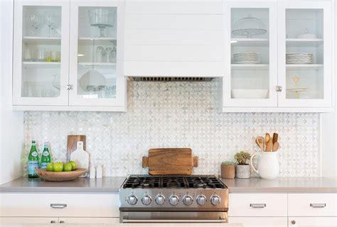 white kitchen mosaic backsplash gray mosaic kitchen backsplash tiles design ideas 1392