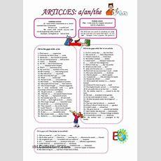 Articles;a,an, The  Articles  English Grammar Worksheets, Education English, English Grammar