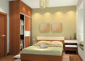 Simple, Interior, Design, Ideas, For, Small, Bedroom, With
