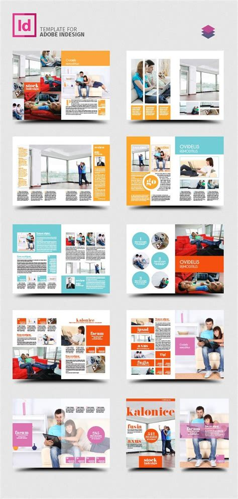 indesign pro magazine template kalonice graphic