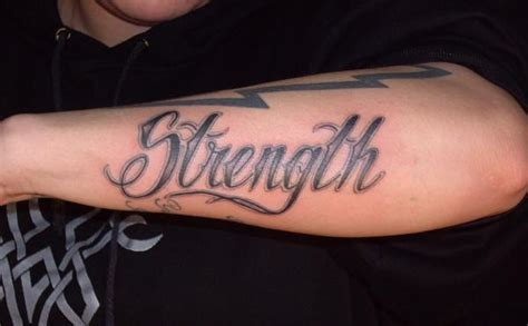 Strength Tattoo Quotes For Guys. Quotesgram